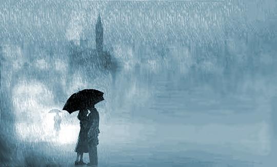 mơ mưa bão