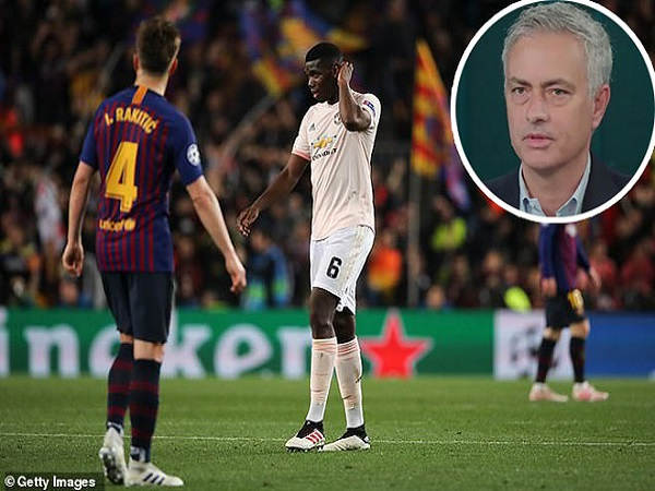 """Mourinho lên giọng """"dạy dỗ"""" Solskjaer"""