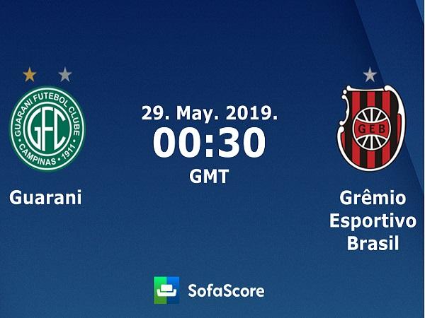 Dự đoán Guarani vs Brasil de Pelotas, 7h30 ngày 29/05
