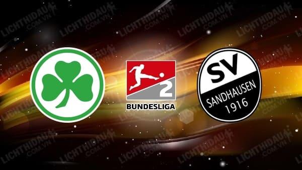 Dự đoán Greuther Furth vs SV Sandhausen, 23h30 ngày 5/6