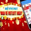 Cách mua vé số Vietlott online thanh toán trực tuyến trên điện thoại