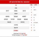 Phân tích XSVT ngày 13/4/2021 - Phân tích KQ xổ số Vũng Tàu thứ 3