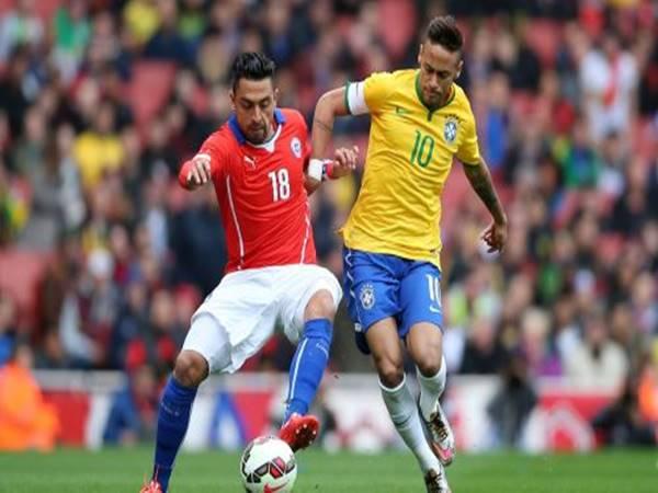 Soi kèo bóng đá giữa Brazil vs Chile, 7h00 ngày 3/7